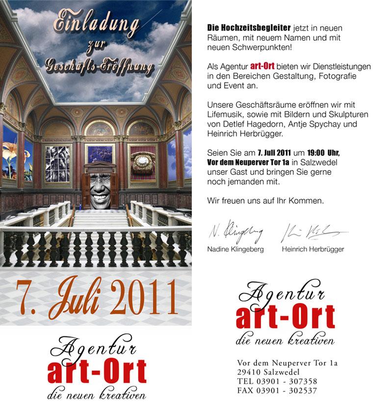 Eröffnung art-Ort Salzwedel